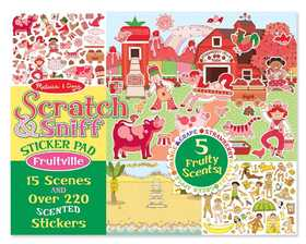 Melissa & Doug 2193 Scratch And Sniff Sticker Pad Fruitville