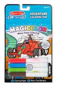 Melissa & Doug 9129 Magicolor On The Go Games And Adventure Coloring Pad