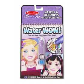 Melissa & Doug 9416 Water Wow! Makeup And Manicures On The Go Travel Activity