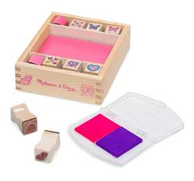 Melissa & Doug 2415 Butterfly And Hearts Stamp Set