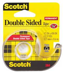 3M 137 Double Stick Tape 1/2x450