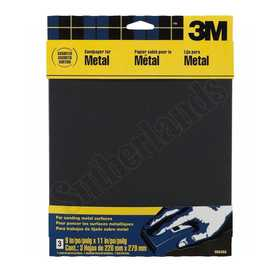 3M 9064 Sandpaper Emery 9x11 Assorted