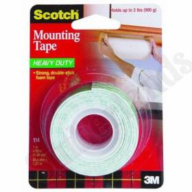 3M 114 Mounting Tape 1x50 in