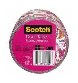3M 910-PKP-C Duct Tape Pattern Paisley 1.88x