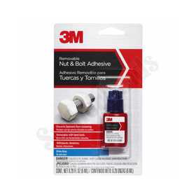 3M 18120 Nut & Bolt Removable Adhesive