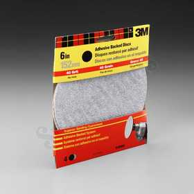 3M 9184DC-NA 6 in Adhesive Backed Sanding Disc 40 Grit