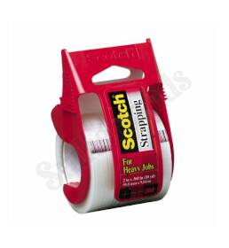 3M 350 Strapping Tape 2x360 in With Dispenser