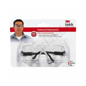 3M 90750-80025T Safety Glasses Prof Clear
