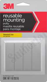 3M 18001 Putty Mounting Reuseable