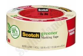 Scotch 2050-2A Masking Tape For General Painting 2 In X60 Yd
