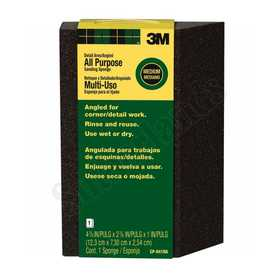 3M CP041NA Angled Medium-Grit Single Angled Sanding Sponge