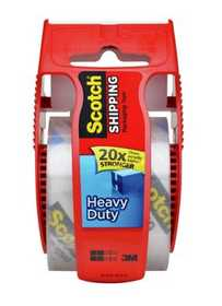 Scotch 3850-RD 1.88-Inch X 54.6-Yard Heavy Duty Shipping Packaging Tape With Reusable Dispenser