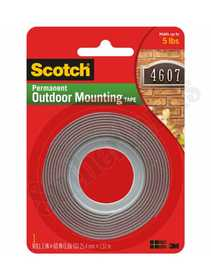 3M 4011 Tape Mount Ext Ss 1x50 Scotch