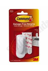 3M 17005 Spring Clip Command Adhesive