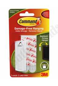3M 17040 Command Sawtooth Picture Hanger