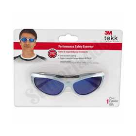 3M 90975-80025T Xf303 Blue Mirror Safety Glasses