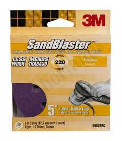 3M 99525ES DISC HOOK&LOOP 8HOLE 5