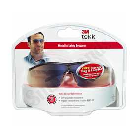 3M 90788-80025T Glasses Metaliks + Safety Mirror