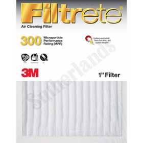 3M 307DC-6 Filtrete Basic Dust Reduction Air Filter 10x20x1