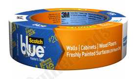 3M 2080EL-1.5E Blue Painters Tape With Edge Lock 1.5x60yd
