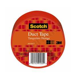 3M 920-ORG-C Colored Duct Tape Orange 1.88x20yd
