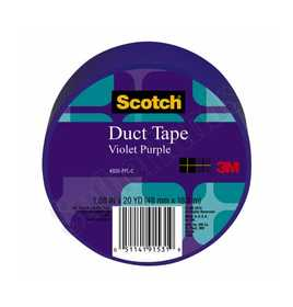 3M 920-PPL-C Colored Duct Tape Purple 1.88x20yd