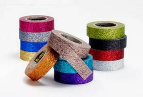 Scotch C514-GRN Expressions Glitter Tape , Green