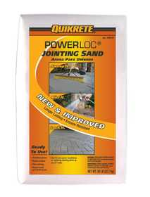 Quikrete 1150-47 Power Loc Jointing Sand 50lb