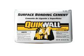 Quikrete 1230-50 Quikwall 50lb White