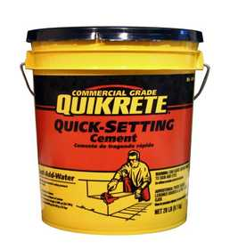 Quikrete 1240-20 Quick Setting Cement 20lb