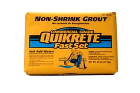 Quikrete 1585-09 Fast Set Non Shrink Grout 60lb