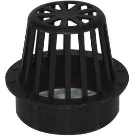 NDS 0663SDB 6 In Atrium Grate, Black