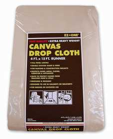 Nation Ruskin 41-CD415J Canvas Drop Cloth 4x15 Extra Heavy