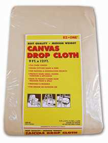 Nation Ruskin 41-CD912F Canvas Drop Cloth 9x12 Med Wt