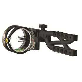 Trophy Ridge AS605 Trophy Ridge Cypher 5 Pin Bow Sight, Black # As605