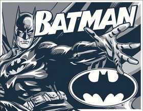 Nostalgic Images PD-1731 Batman Duotone Metal Sign