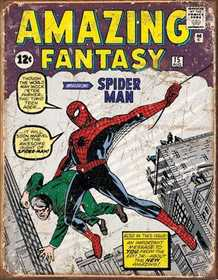 Nostalgic Images PD-1971 Spiderman Cover Metal Sign