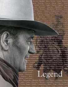 Nostalgic Images PD-1185 John Wayne Legend Metal Sign