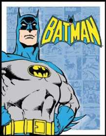 Nostalgic Images PD-1401 Batman Retro Panel Metal Sign