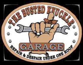 Nostalgic Images CD-980 The Busted Knuckle Garage Metal Sign