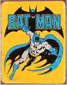 Nostalgic Images PD-1357 Batman Retro Metal Sign