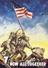 Nostalgic Images CD-614 Iwo Jima Metal Sign