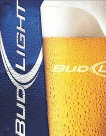 Nostalgic Images BD-1550 Bud Light Metal Sign