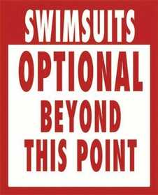 Nostalgic Images CG-640 Swimsuits Optional Metal Sign