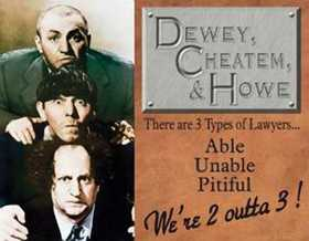 Nostalgic Images PD-1291 The Three Stooges Cheatem Metal Sign
