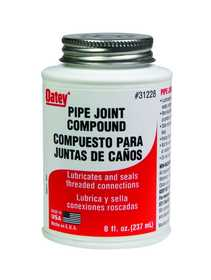Oatey 31228 Compound Pipe Joint 8 oz With Brush