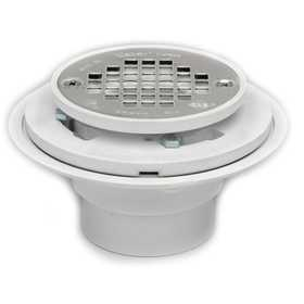 Oatey 42213 Shower Drain 2-3 in For Pvc Tile