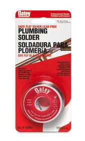 Oatey 530622 Solder Safe-Flo Potable Water 1/4lb
