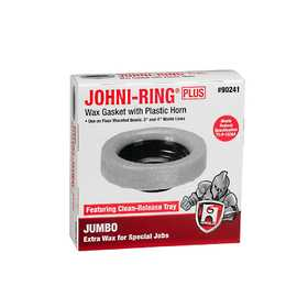 Oatey 90241 Johni-Rings - Jumbo Size With Plastic Horn