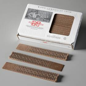 Nelson Wood Shims WC8/32/15/50 Composite Shims 8 In